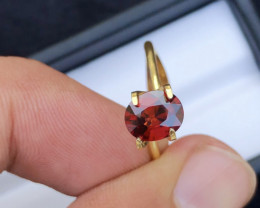 Superb Quality 1.80Ct Redish Color Spessartite Garnet