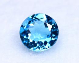 3.17ct Natural Swiss Blue Topaz Round Cut TP005