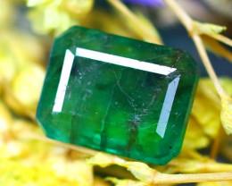 Emerald 2.30Ct Natural Zambia Green Emerald D2616/A38