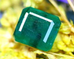 Emerald 2.00Ct Natural Zambia Green Emerald D2618/A38