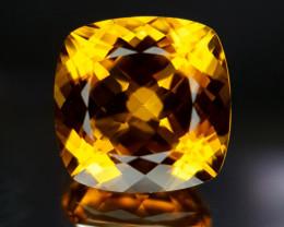 Natural Citrine Gems.