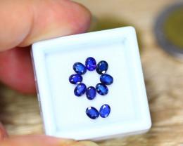 2.56ct Natural Ceylon Blue Sapphire Oval Cut Lot B35