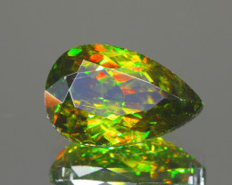 Rare 2.37Ct AAA Fire Sphene Chrome Exquisite Quality @Pakistan