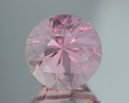 2.60Ct Baby Pink Tourmaline Top Color Brilliant Cut Gemstone