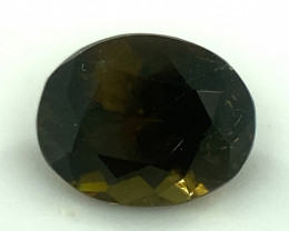 Vesuvianite 1.30ct  Very Rarely seen in usa People think its green brown gl