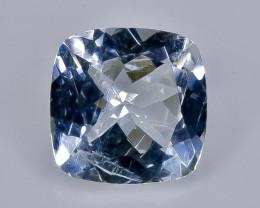 1.25  Crt  aquamarine  Natural  Faceted Gemstone.( AB 48)