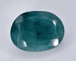 6.25  Crt  emerald  Natural  Faceted Gemstone.( AB 48)