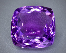 17.32 Crt  amethyst  Faceted Gemstone (Rk-45