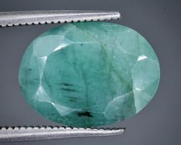 5.80  Crt  emerald  Faceted Gemstone (Rk-45