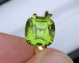 Peridot 4.490 Ct Natural Amazing Color, Top Quality ~ SKU - A