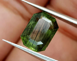 3.25Crt Rutile Peridot Natural Gemstones JI98