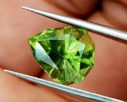 5Crt Rutile Peridot Natural Gemstones JI98