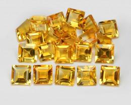 Citrine 6.53 Cts 12Pcs Fancy Golden Yellow Color Natural Gemstones- Parcel