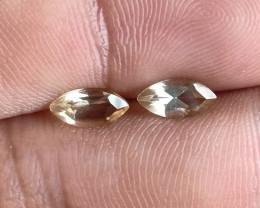 4x8mm Citrine Pair Natural Marquise Faceted Gemstone VA2985