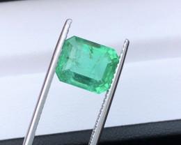 Mesmerising Piece 4.30 Ct Natural Emerald From Ethiopia