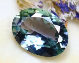 Tanzanite 1.10Ct Natural VVS Purplish Blue Tanzanite D2818/A45