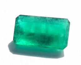 Polished Natural Brazilian emerald – 2.48 ct ( Emerald Cut)