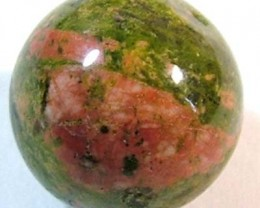 BEAUTIFUL UNAKITE STONE, DRILLED 9.15 CTS NP-1228