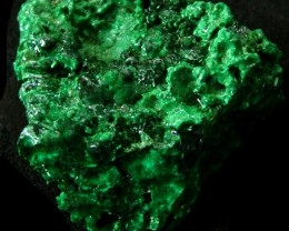 MALACHITE CHUNKY   ROUGH FROM CONGO 141.25 CTS [F 1735]