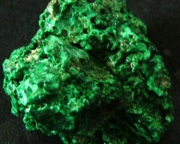 MALACHITE CHUNKY   ROUGH FROM CONGO 102.45 CTS [F 1740]