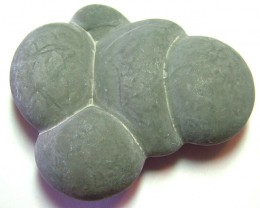 CANADIAN FAIRY STONE CONCRETION SCULPTURE 215CTS AS-4065