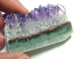 73 CTS AMETHYST SLICE HIGH QUALITY  SG-689