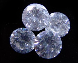 PARCEL 4 BRILLIANT CUT ROUND DIAMONDS  0.26CARATS st751