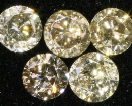 PARCEL 5 ARGYLE CONGAC  DIAMONDS VS  0.21 CARATS  OP 1189