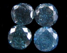 PARCEL 4X3 POINTERS VS BLUE DIAMONDS 0.32 CARATS  OP 1199
