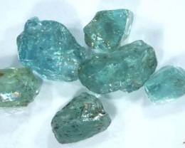 APATITE ROUGH  AQUA BLUE GREEN  5.30CT  CG-814
