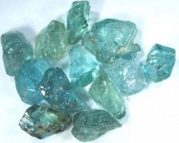 APATITE ROUGH  AQUA BLUE GREEN 10.50 CTS  CG-813