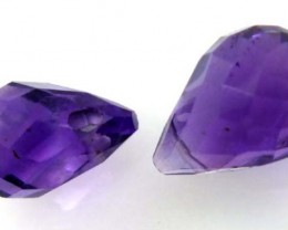 AMETHYST FACETED   STONE  2.9  CTS CG-1104
