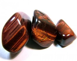RED TIGER EYE 3 STONES 203CTS NP-1175