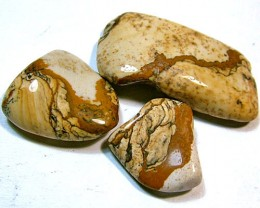 PICTURE JASPER INTERESTING PATTERN 6 PCS 152 CTS  NP-947