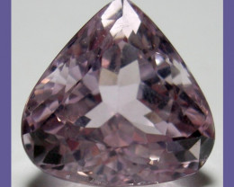 EXQUISITE, PRISTINE 11.42CT KUNZITE FAT PEAR