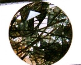 1.10 CTS FACETED TOURMALATED QUARTZ  PG-523