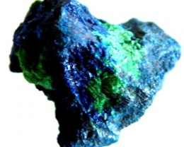 AZURITE +MALACHITE SPECIMEN FROM MOROCCO  27.00 CTS [MX6231]