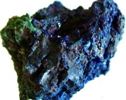 AZURITE +MALACHITE SPECIMEN FROM MOROCCO  18.65 CTS [MX6240]