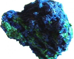 AZURITE +MALACHITE SPECIMEN FROM MOROCCO 11.00 CTS [MX 6243]