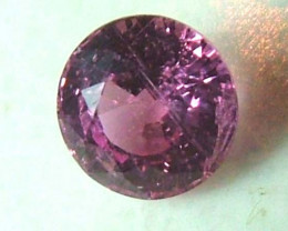 PINK SAPPHIRE MADAGASCAR .57 CTS SG-1064