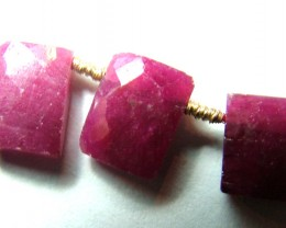 10 CTS  RUBY RASBERRY RED DRILLED   SG-1081