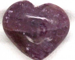 RED RUBY HEART CARVING 12.55CTS PG-539