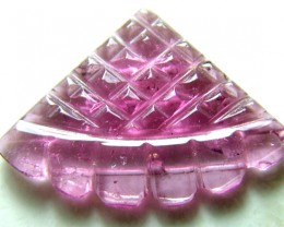 PINK TOURMALINE CARVING 4  CTS SG-1123