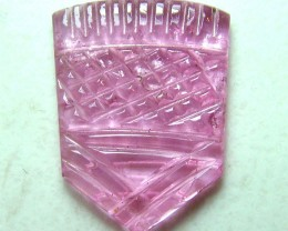 PINK TOURMALINE CARVING 6 CTS SG-1125