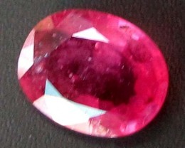 FREE SHIPPING CERTIFIED PIGEON RED RUBY 1.55 CT 0236