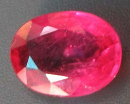 FREE SHIPPING CERTIFIED PIGEON RED RUBY 1.85 CT 0238