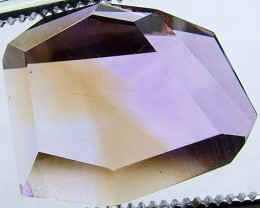 AMETRINE NATURAL CUT STONE  18.9 CTS    AS 5254