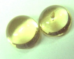 2 CTS CITRINE ROUNDS  SG- 1146