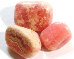 RHODOCHROSITE PARCEL OF 6 STONES 96 CTS ADG-322