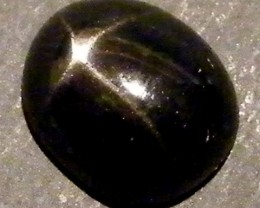 SIX STAR  BLACK DIOPSIDE STONE  3 CTS  ST765